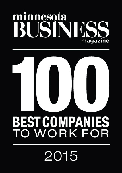 Minnesota Business Magazine - 2015 Top 100 Best Companies To Work For