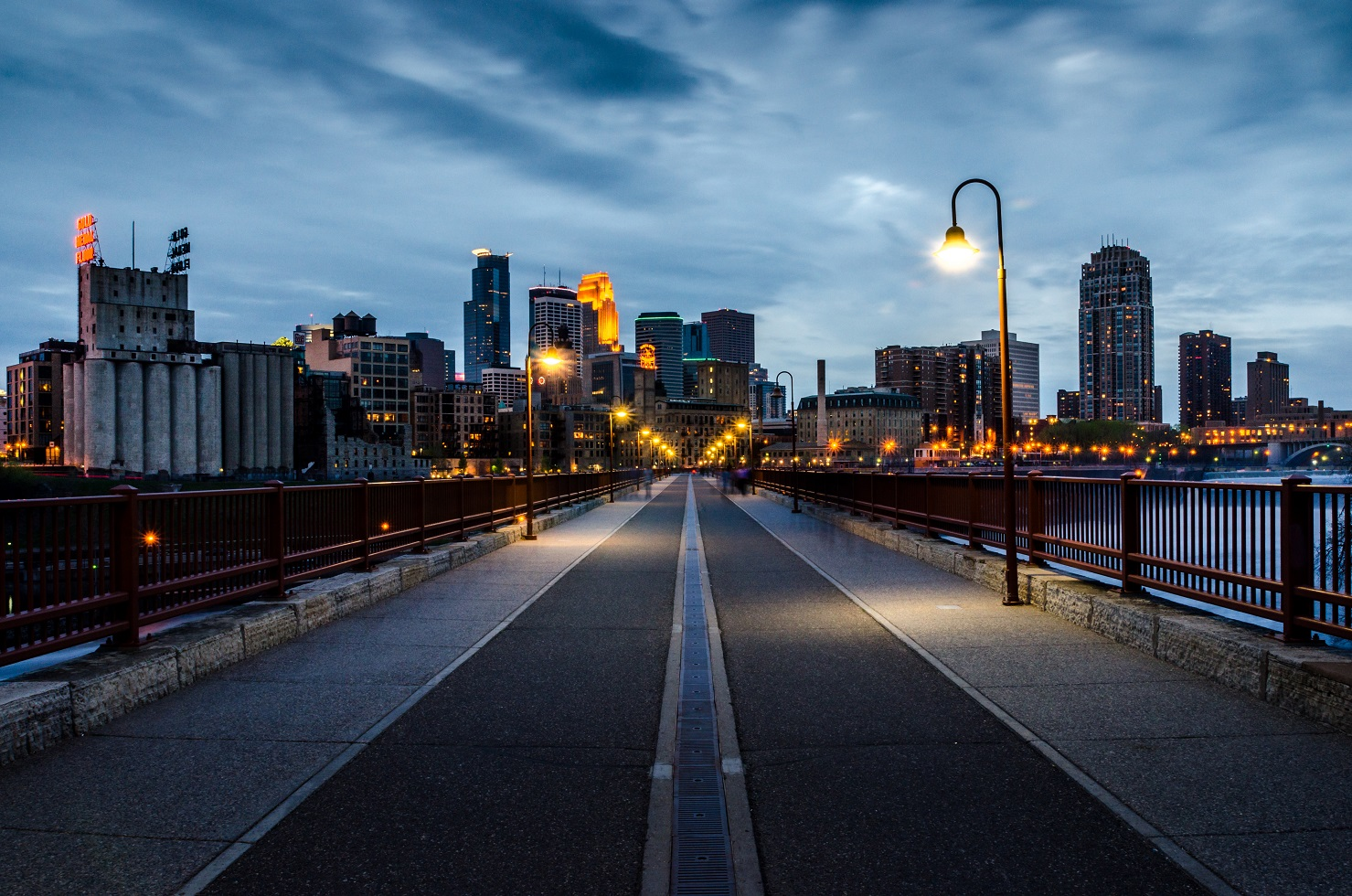 Bridge at night edit